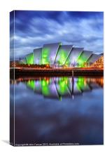 Armadillo Glasgow Scotland, Canvas Print