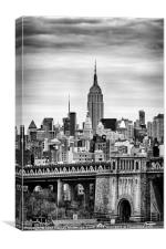 The Empire State Building, Canvas Print