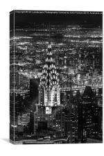 The Chrysler Building, Canvas Print