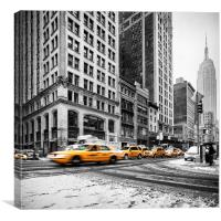 The Empire State, Canvas Print