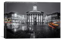 GOMA royal exchange square glasgow, Canvas Print