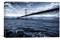 Forth Bridges Scotland, Canvas Print