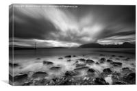 Elgol and the Black Cuillin , Canvas Print