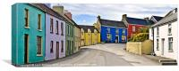 Eyeries Village, West Cork, Ireland, Canvas Print