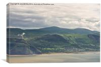 Anglesey from the Great Orme, Canvas Print