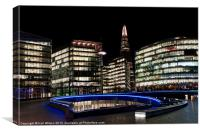 The Scoop & The Shard, Canvas Print