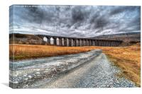 Road to Ribblehead, Canvas Print