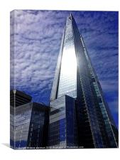 The Shard London, Canvas Print