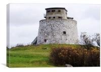 Martello Tower at it's Best, Canvas Print