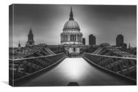 St Paul's Cathedral , Canvas Print
