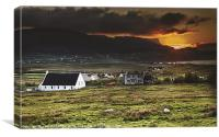 Staffin, Isle of Skye, Canvas Print