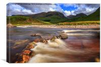 Glen Etive Scotland, Canvas Print