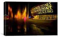 millennium centre and water tower, Canvas Print