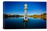 roath park evening, Canvas Print