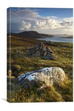 Looking South From Reiff, Scotland, Canvas Print