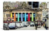 National Museum of Scotland, Canvas Print
