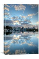 Mirrored Clouds, Canvas Print