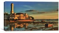 Floating Mosque, Canvas Print