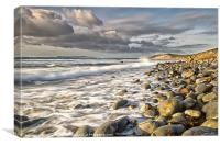 The Wash at Osmington, Canvas Print