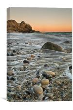 Church Ope Cove Sunset, Canvas Print