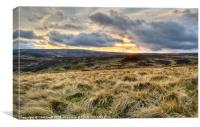 To the Dales and Beyond, Canvas Print