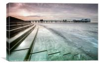 Blackpool North Pier Curves, Canvas Print