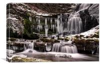 Winter Wonders at Scaleber Force, Canvas Print