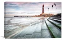 Blackpool Tower Curves, Canvas Print