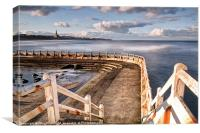 Stairway to Tynemouth, Canvas Print