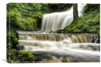 Raging Scaleber Force Falls, Canvas Print