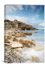 The Overlook at Portland Bill, Canvas Print