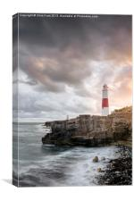Sunkissed Portland Lighthouse, Canvas Print