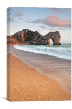 Durdle Door Breakers, Canvas Print