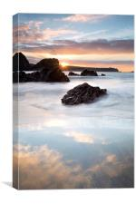 Kynance Cove Sunrise, Canvas Print