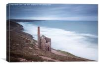 Wheal Coates Mine, Canvas Print