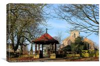 St Martins Owston Ferry, Canvas Print
