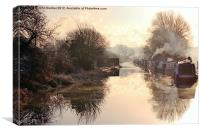 Winter Clayworth Morning, Canvas Print