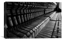 Silent Piano Keys, Canvas Print