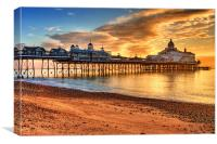 Eastbourne Pier, Canvas Print
