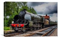 Bluebell Railway Maunsell S15 No847, Canvas Print