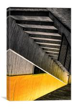 Stairway to nowhere, Canvas Print