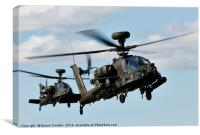 Gunships, Canvas Print