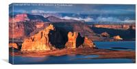 Lake Powell Evening, Canvas Print