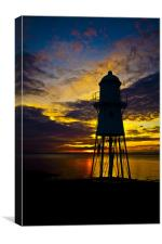 Black nore lighthouse.., Canvas Print