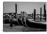 Moored, Canvas Print