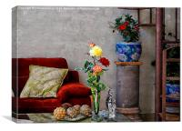 the living room, Canvas Print