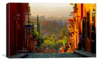 what a wonderful day, Canvas Print