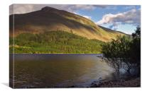 Thirlmere and Brown Crag, Canvas Print