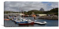 The Harbour at Lochinver, Canvas Print