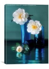 CAMELLIAS, Canvas Print